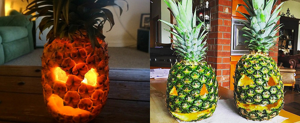 These Pineapple O'Lanterns Will Make You Forget All About Pumpkins
