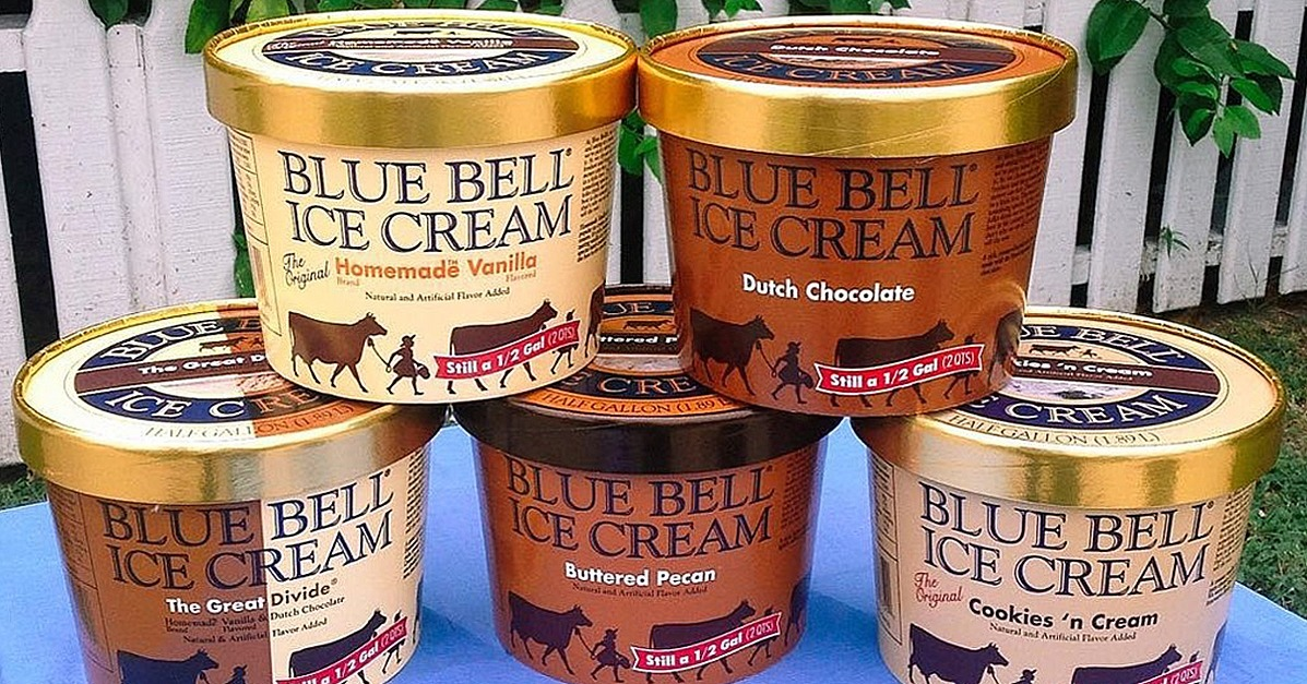 Blue bell ice cream delivery popsugar food for Christmas cookie ice cream blue bell