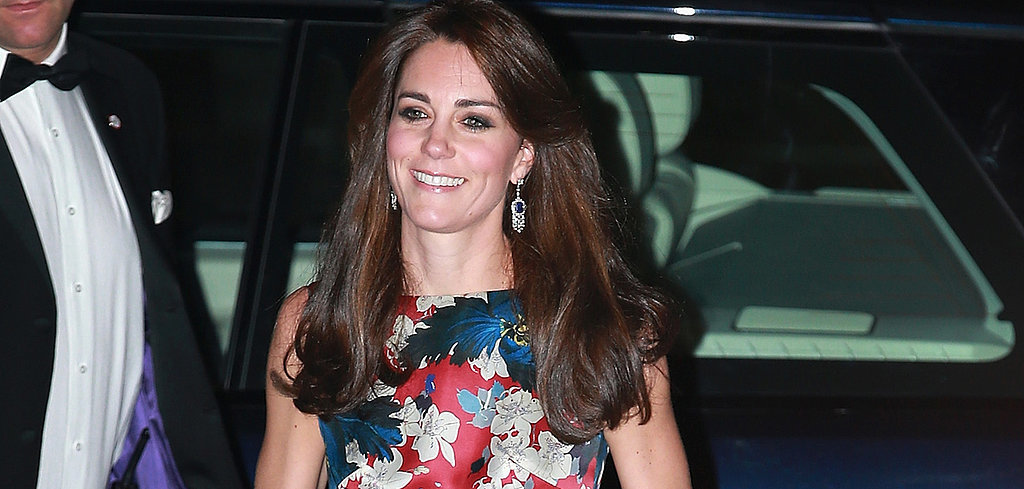 Kate Middleton's Floral Gown Will Shock You in the Best Possible Way