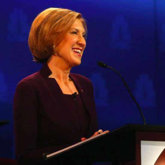 Carly Fiorina Quote About Hillary Clinton at Debate