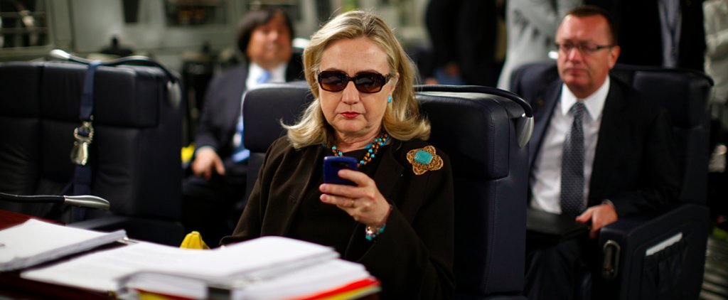 Hillary Clinton Is Literally Texting Her Fans During the GOP Debate