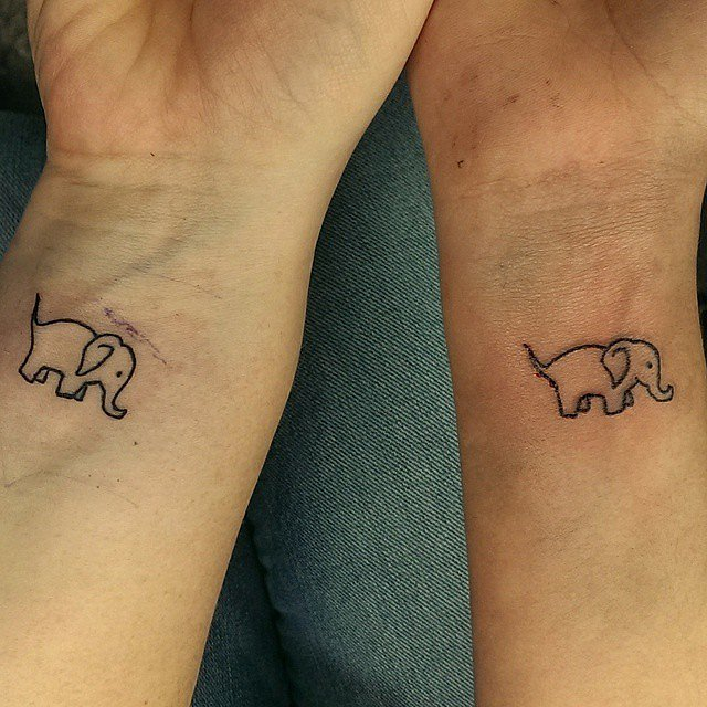 Father daughter tattoos popsugar love sex for Father and daughter tattoos