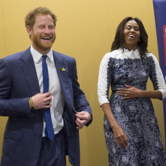 Prince Harry and Michelle Obama at Invictus Games Event 2015