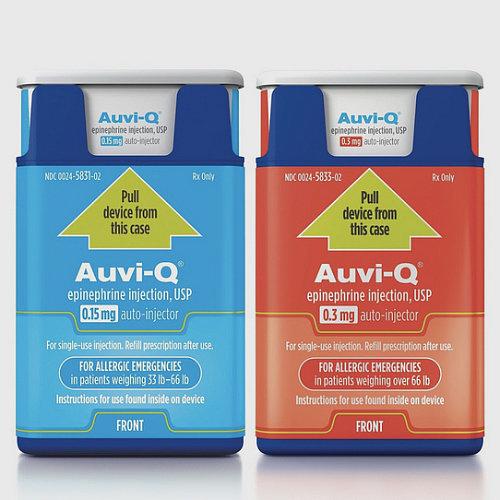 Auvi-Q Epinephrine Injector Recall