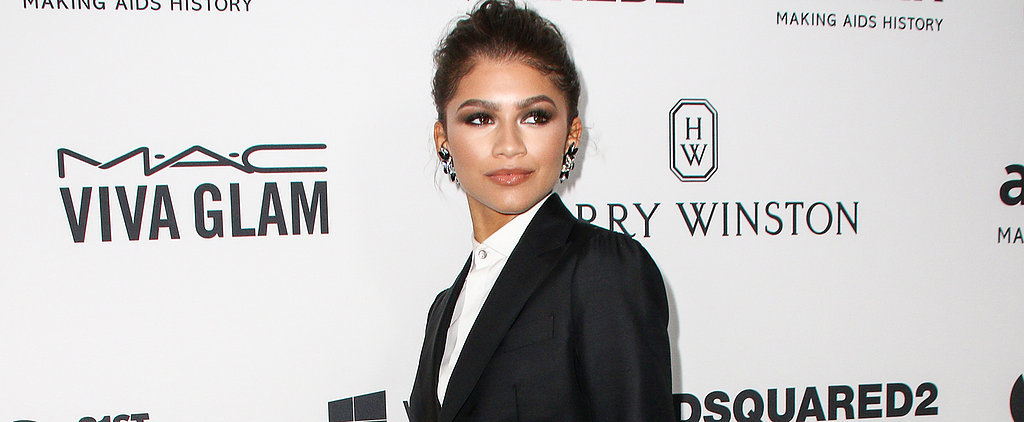 While Everyone Put On Their amfAR Dresses, Zendaya Had a Better Idea