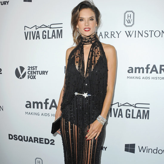 Alessandra Ambrosio at 2015 amfAR's Inspiration Gala in LA