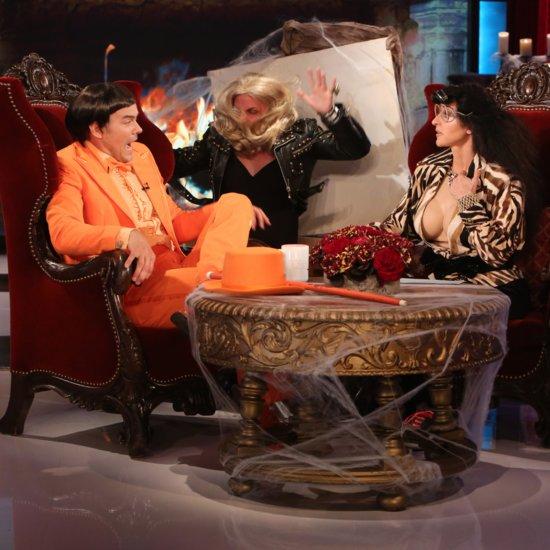 Josh Duhamel Getting Scared by Ellen DeGeneres