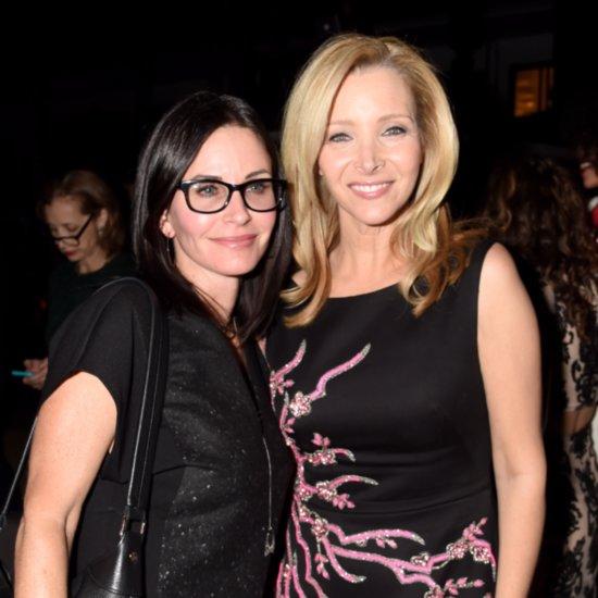 Courteney Cox and Lisa Kudrow Had a Mini Friends Reunion