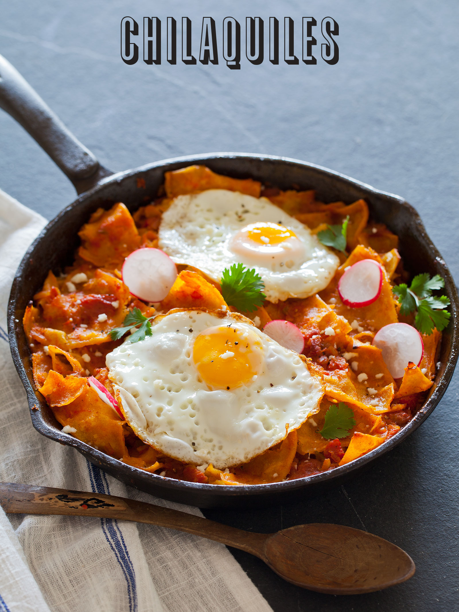 ... with fried eggs for breakfast or shredded chicken for lunch or dinner