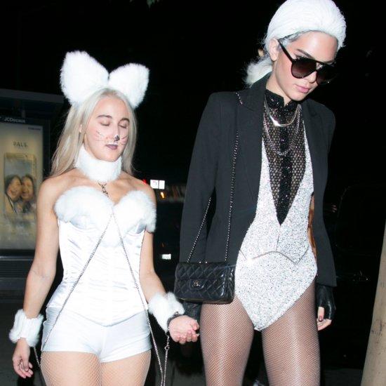 Kendall Jenner Karl Lagerfeld Halloween Costume 2015