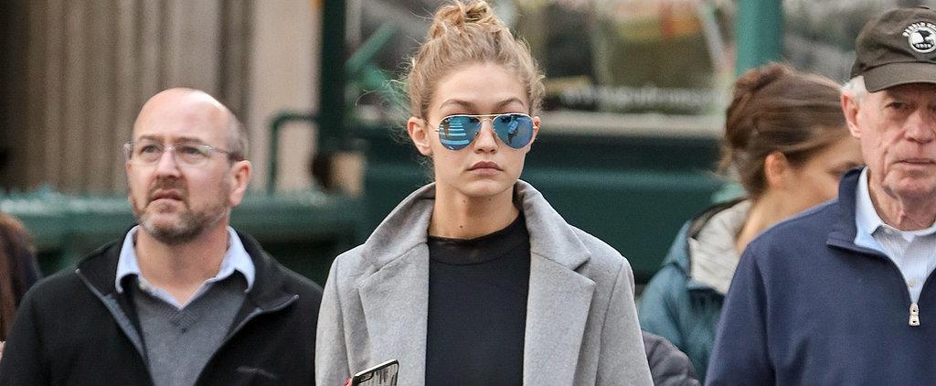Gigi Hadid Walked Around New York in a Leotard —and Looked Friggin' Flawless