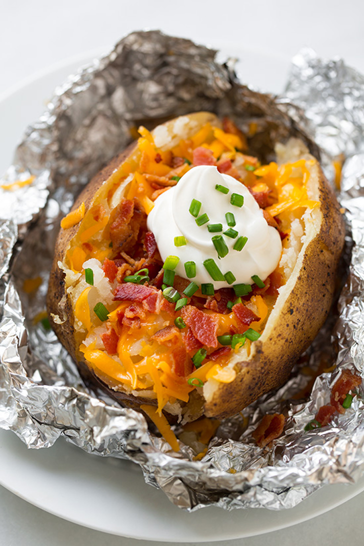 Slow-Cooker Baked Potatoes | 36 Insanely Delicious Things You Can Make ...