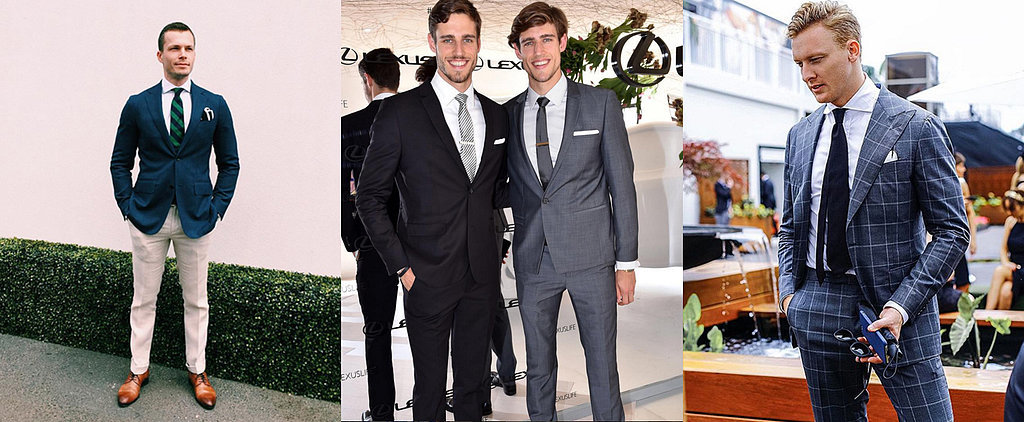 Hot Guys in Suits! The Real Reason We Love the Races