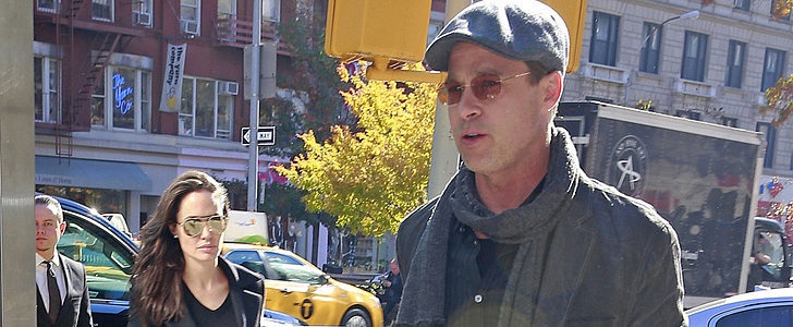 Brad Pitt and Angelina Jolie Make a Cute Bookstore Stop With the Twins