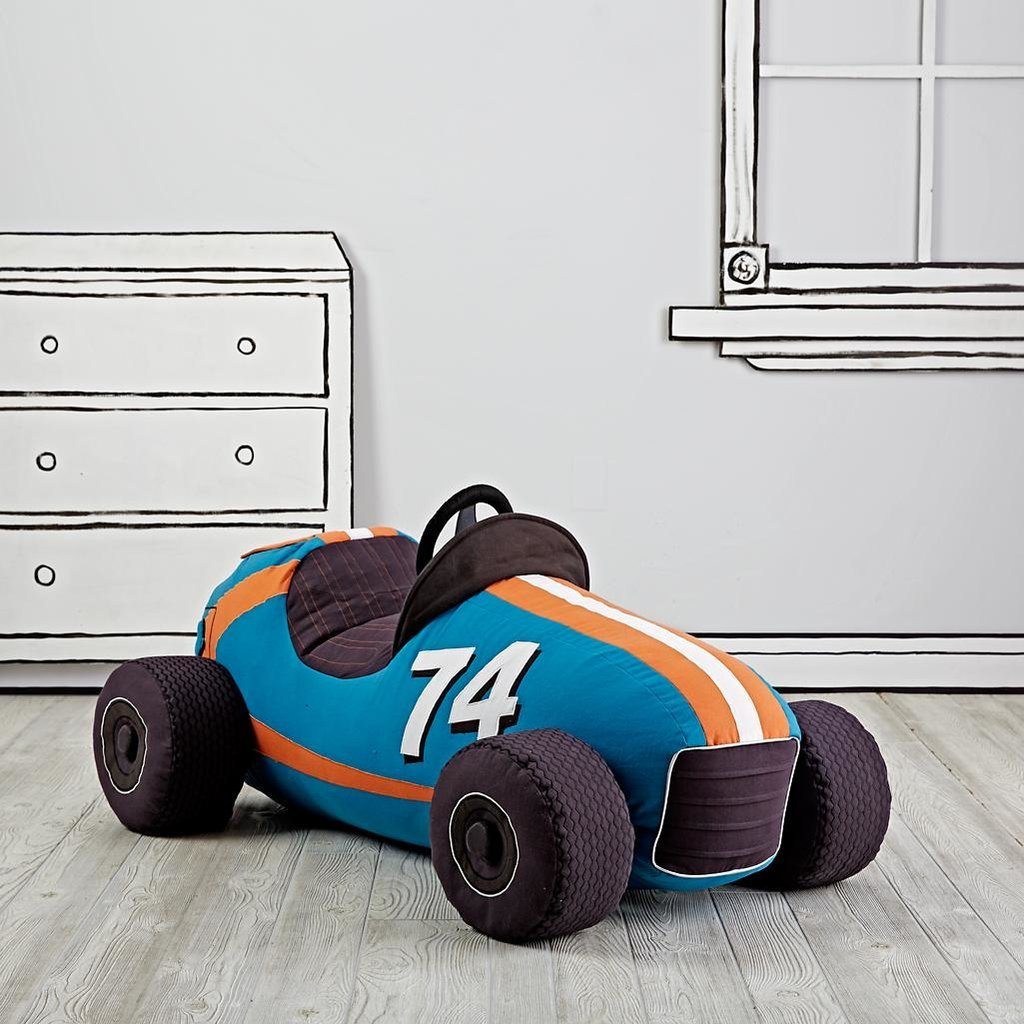 For 2-Year-Olds: The Land of Nod Grandest Prix Plush Speedster
