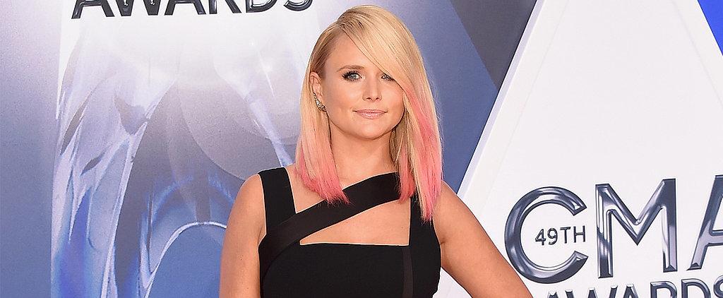 Miranda Lambert Shows Off Pink Hair at the CMAs