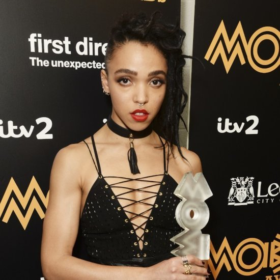 Robert Pattinson and FKA Twigs at MOBO Awards 2015