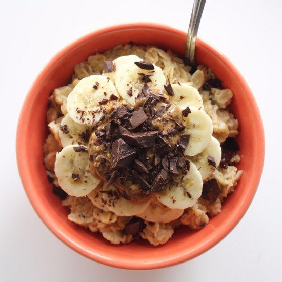 Warm Detox Breakfast Menu With Oatmeal