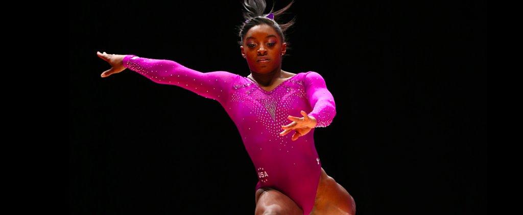 You Have to Watch Gymnastic Sensation Simone Biles's Floor Routine