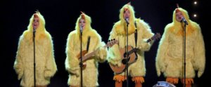 "In Which Alanis Morissette Dresses as a Chicken and Clucks ""Ironic"" With Jimmy Fallon"