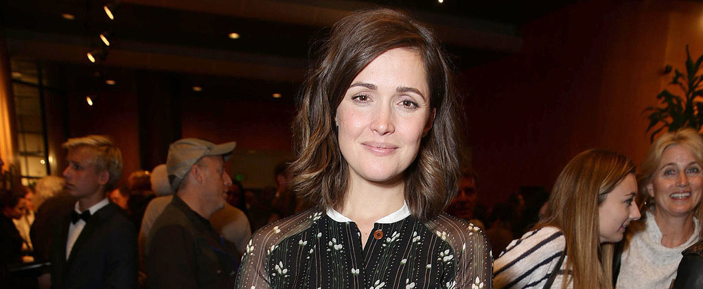Rose Byrne Brings Her Baby Bump to the Red Carpet