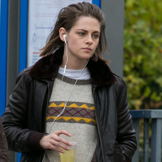 Kristen Stewart Filming in Paris November 2015
