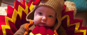 We're Thankful For These Adorable Babies in Turkey Costumes