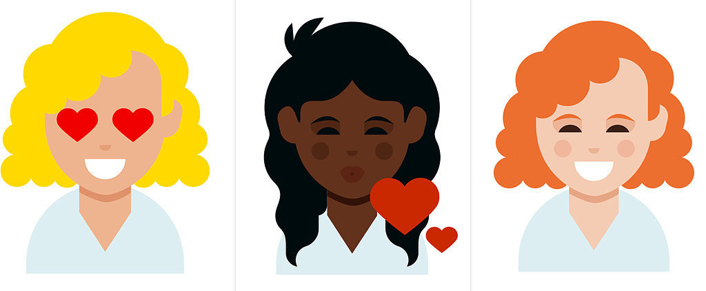 POPSUGAR Shout Out: Adorable New Curly Hair Emojis Have Arrived!