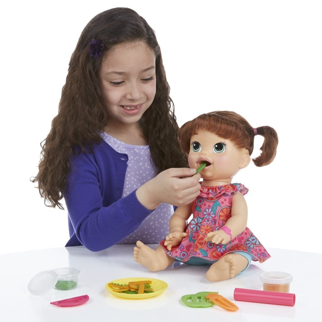 For 4-Year-Olds: Baby Alive Super Snacks Snackin' Sara