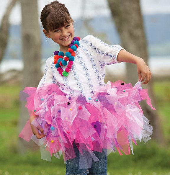 For 4-Year-Olds: Seedling Create Your Own Designer Tutu