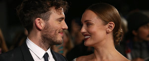 Sam Claflin's Wife Reveals Her Pregnancy at the Hunger Games Premiere in London!