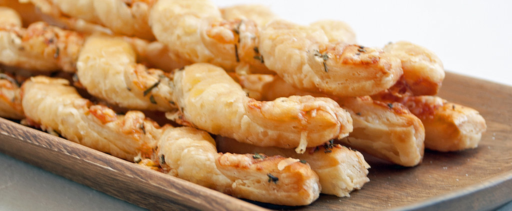 Do the Twist With Herbed Cheese Straws