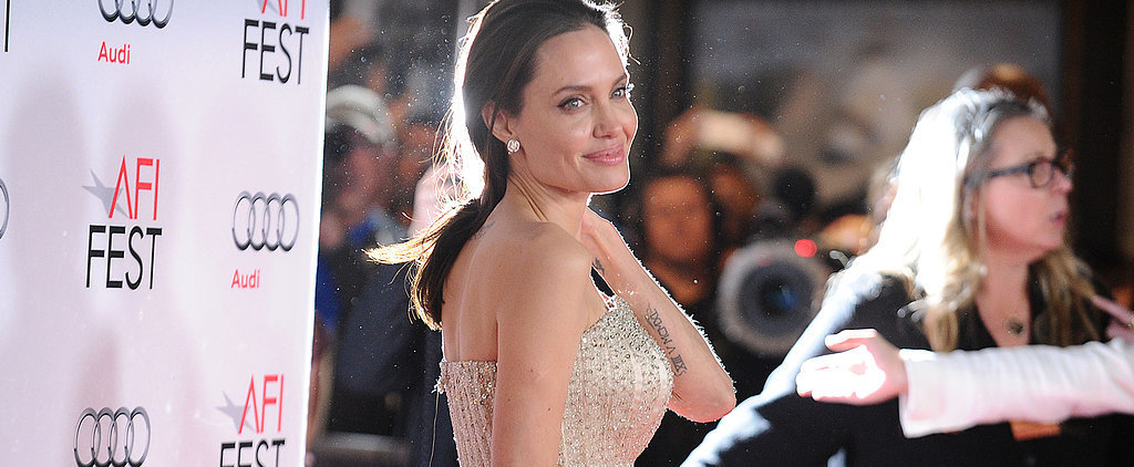 Angelina Jolie's Versace Gown Looked Tailor-Made For Her — Because It Was