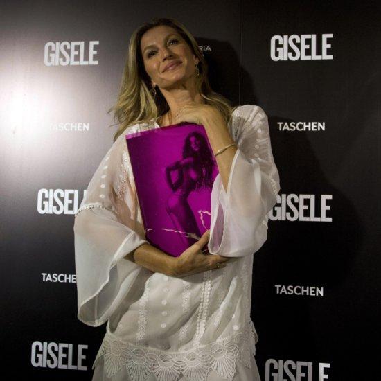 Gisele Bundchen Book Launch Style