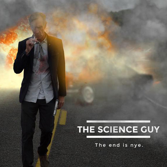 Bill Nye Photoshopped Into Movie Posters