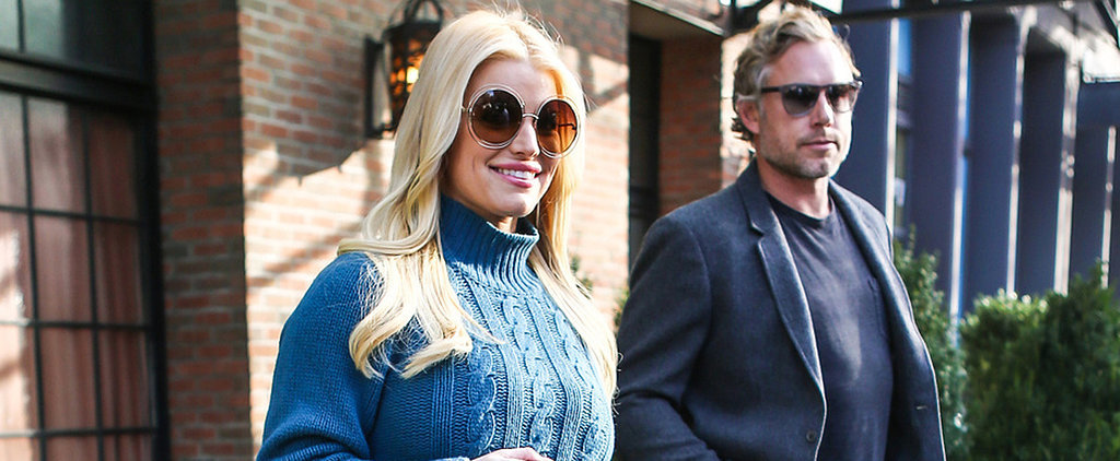 Jessica Simpson Looks Adorably Happy After Her Sexy Date Night With Eric Johnson