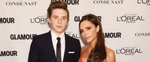 Brooklyn Beckham Honours His Mum, Victoria, With a Glamour Woman of the Year Award
