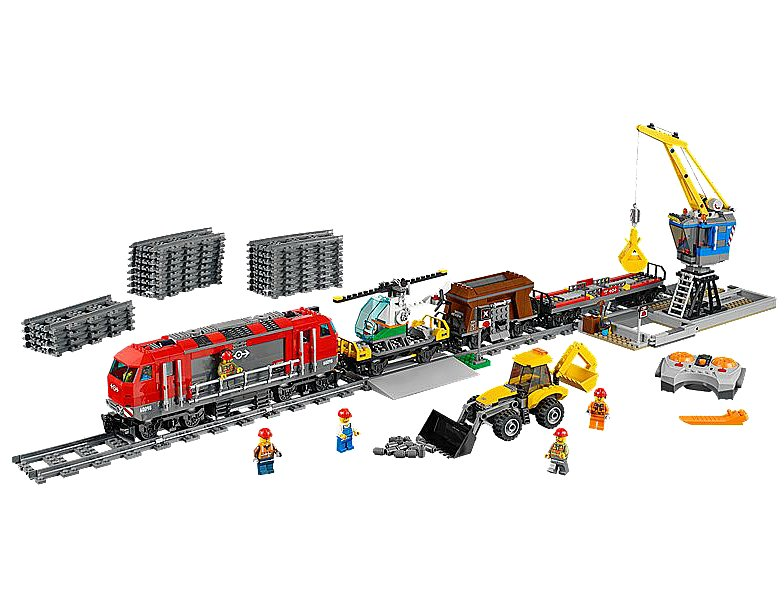 For 5-Year-Olds: Lego City Heavy Haul Train