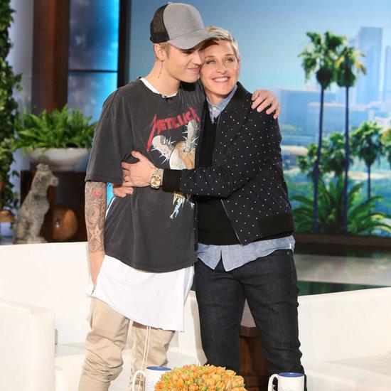 Justin Bieber Talks About Selena Gomez on Ellen 2015