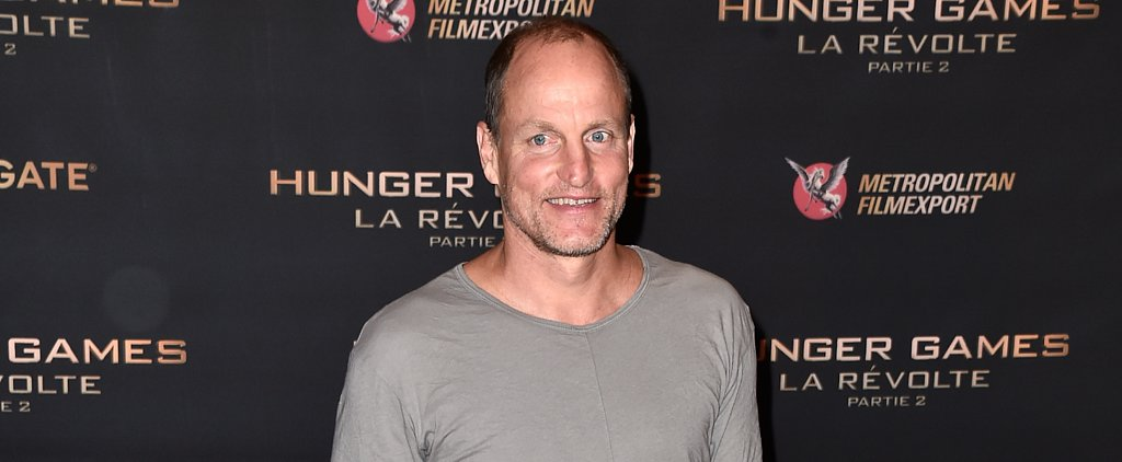 Woody Harrelson Shows Up to the Hunger Games Photocall in Pyjamas