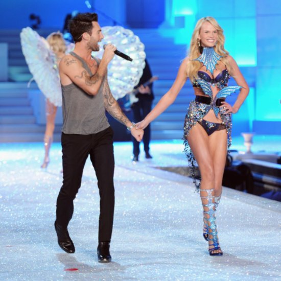 Adam Levine Loves Victoria's Secret Fashion Show