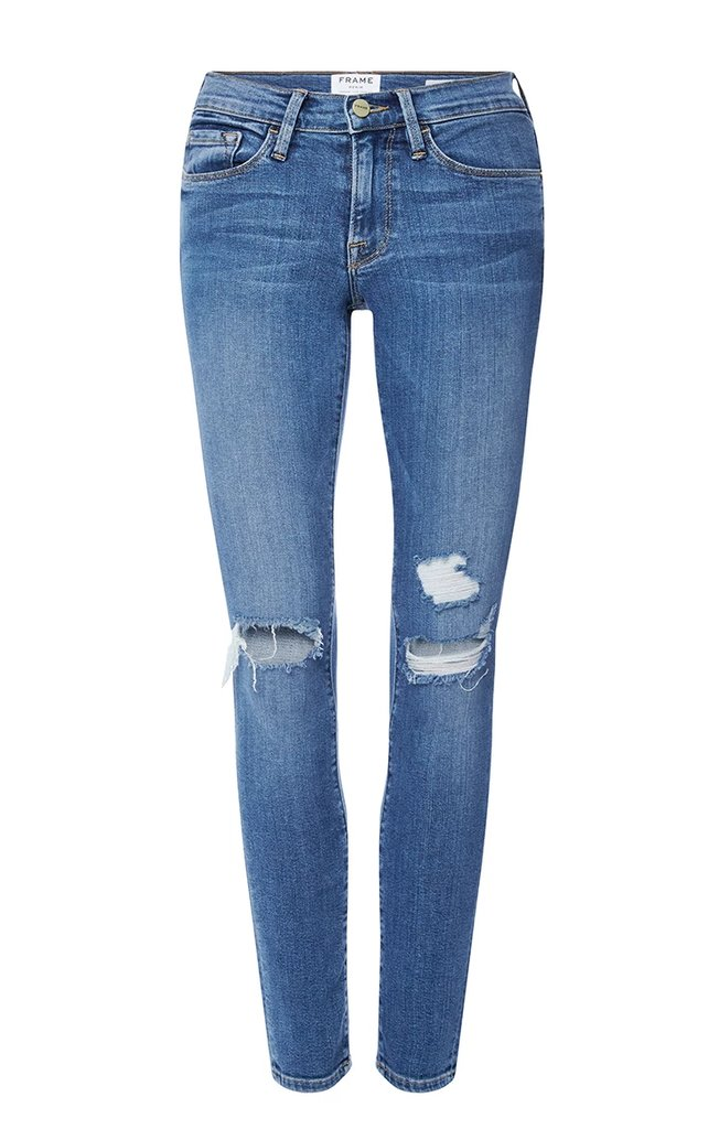 Wear-Anywhere Distressed Jeans