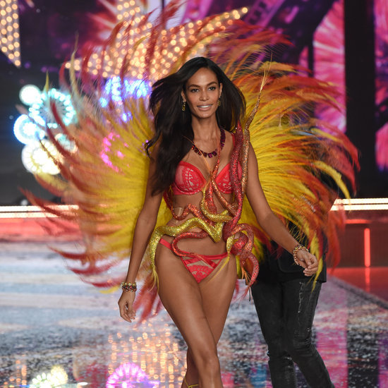 Joan Smalls at 2015 Victoria's Secret Fashion Show
