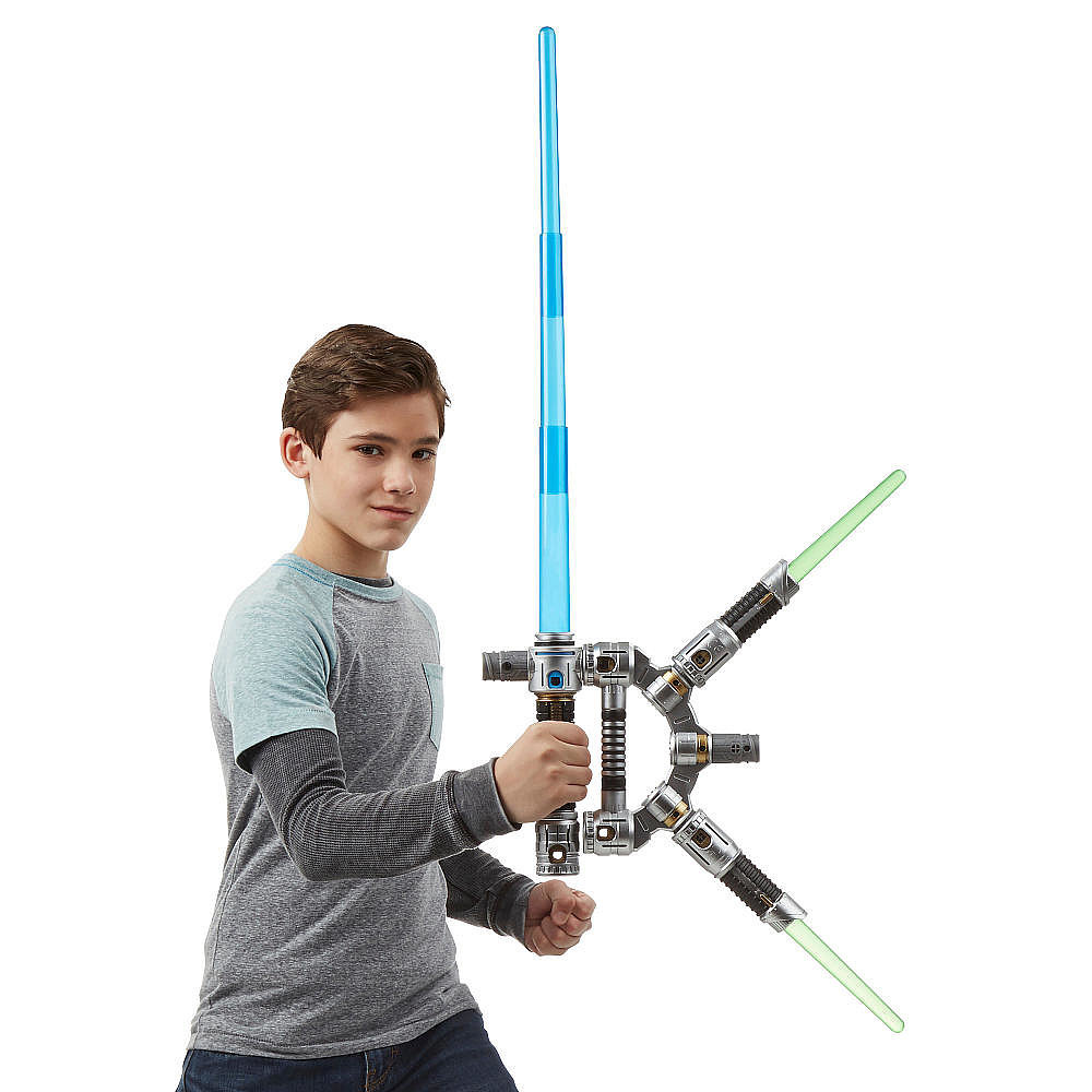 For 6-Year-Olds: Star Wars Bladebuilders Jedi Master Lightsaber