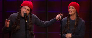 "You'll Live For This Clip of James Corden and Alanis Morissette Singing ""Ironic"""