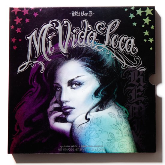 Kat Von D Mi Vida Loca Remix Eye Shadow Palette Swatches