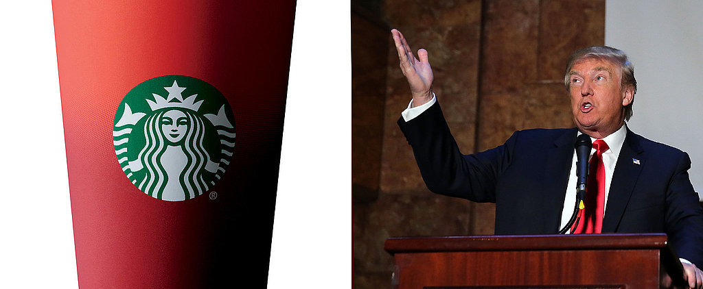 "Donald Trump on the Red Cup Controversy: ""Maybe We Should Boycott Starbucks"""
