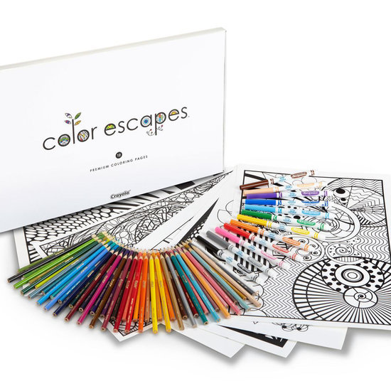 Crayola's New Coloring Book Kit