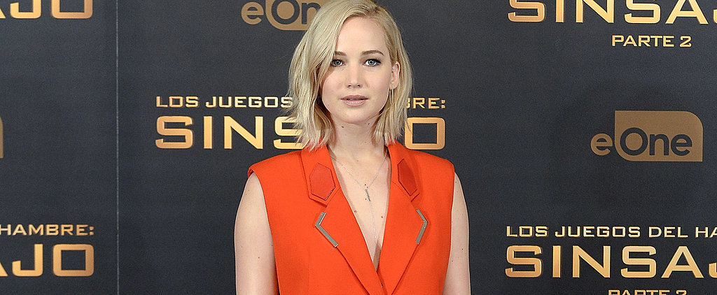Jennifer Lawrence Went Braless and Pantless on the Red Carpet — and It Was Brilliant