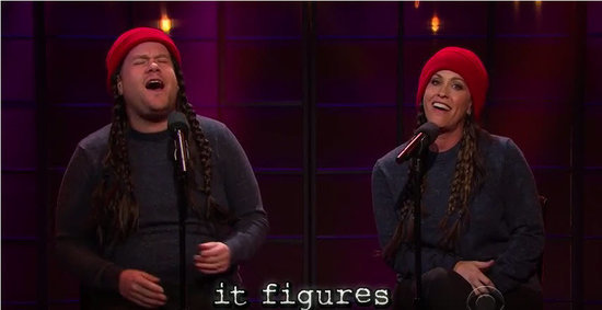 Alanis Morissette Sings Hilarious Version of 'Ironic' on 'The Late Late Show' (VIDEO)